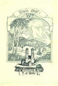Louis Graf ex libris (odkaz v elektronickém katalogu)