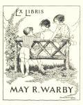 EX LIBRIS MAY R. WARBY (odkaz v elektronickém katalogu)