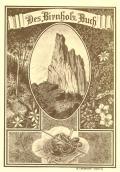 Des Birnholz Buch (odkaz v elektronickém katalogu)