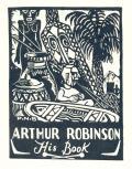 ARTHUR ROBINSON His Book (odkaz v elektronickém katalogu)