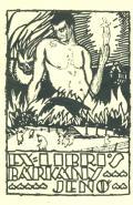 EX LIBRIS BÁRKÁNY JENÖ (odkaz v elektronickém katalogu)