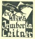 exlibris Irmberta Leitner (odkaz v elektronickém katalogu)