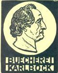 BUECHEREI KARL BOCK (odkaz v elektronickém katalogu)