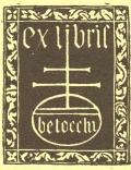 ex libris betocchi (odkaz v elektronickém katalogu)