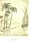 EX LIBRIS HELMER FOGEDGAARD (odkaz v elektronickém katalogu)