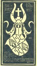 ex libris Edm. Schönenberger (odkaz v elektronickém katalogu)