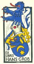 EX LIBRIS HANS GROB (odkaz v elektronickém katalogu)