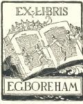 EX-LIBRIS E.G.BOREHAM (odkaz v elektronickém katalogu)