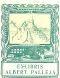 EX-LIBRIS ALBERT PALLEJÁ (odkaz v elektronickém katalogu)