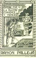 EX LIBRIS RAMON PALLEJÁ (odkaz v elektronickém katalogu)