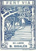 EX-LIBRIS B. SIGALÉS (odkaz v elektronickém katalogu)