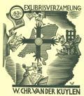 EXLIBRISVERZAMELING W. CHR. VAN DER KUYLEN (odkaz v elektronickém katalogu)