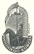 EX LIBRIS ANTONIEGO KURCZA (odkaz v elektronickém katalogu)