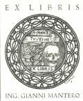EX LIBRIS ING. GIANNI MANTERO (odkaz v elektronickém katalogu)