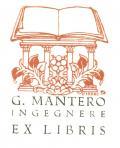 G. MANTERO INGEGNERE EX LIBRIS (odkaz v elektronickém katalogu)