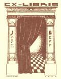 EX-LIBRIS JOSEPH BEFF (odkaz v elektronickém katalogu)