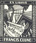 EX LIBRIS FRANCIS CLUNE (odkaz v elektronickém katalogu)