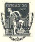 PROF. DR. WILHELM GINTL EX LIBRIS (odkaz v elektronickém katalogu)