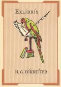 EXLÍBRÍS H.G. DÍKREÍTER (odkaz v elektronickém katalogu)