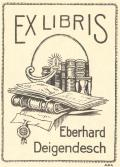 EX LIBRIS Eberhard Deigendesch (odkaz v elektronickém katalogu)
