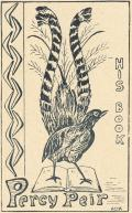 HIS BOOK Percy Peir (odkaz v elektronickém katalogu)