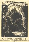 EX LIBRIS G.J.H. BARNETT (odkaz v elektronickém katalogu)