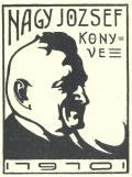 NAGY JOZSEF KÖNYVE 1910 (odkaz v elektronickém katalogu)
