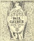 PAUL GELBER (odkaz v elektronickém katalogu)
