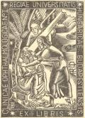 CLINICAE OPHTHALMOLOGICAE N°I REGIAE UNIVERSITATIS HUNGARICAE BUDAPESTIENSIS EX LIBRIS (odkaz v elektronickém katalogu)