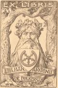 EX LIBRIS LIB. BAR. ARMINII DE FOeLKERSAM (odkaz v elektronickém katalogu)