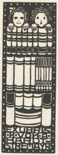 EXLIBRIS K. VON A. HARAT-STREMAYR (odkaz v elektronickém katalogu)
