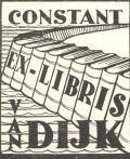 CONSTANT EX-LIBRIS VAN DIJK (odkaz v elektronickém katalogu)