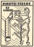 DINNYÉS FERENC EX LIBRIS (odkaz v elektronickém katalogu)