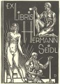 EX LIBRIS HERMANN SEIDL (odkaz v elektronickém katalogu)