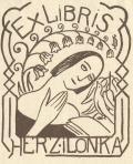 ExLIBRIS HERZ iLONKA (odkaz v elektronickém katalogu)