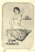 EX LIBRIS: EDGAR MORÄWITZ (odkaz v elektronickém katalogu)