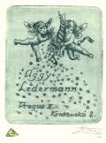 Aggy Ledermann Prague II. Krakovská 2 (odkaz v elektronickém katalogu)