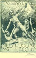 EX LIBRIS MUDr. HUGO HECHT (odkaz v elektronickém katalogu)