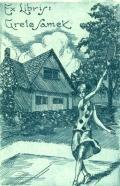 Ex Libris Grete Samek (odkaz v elektronickém katalogu)
