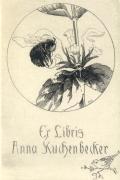 Ex Libris Anna Kuchenbecker (odkaz v elektronickém katalogu)