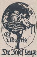 Ex Libris Dr. Jozef Lenze (odkaz v elektronickém katalogu)