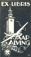 EX LIBRIS JAAP ALVING (odkaz v elektronickém katalogu)