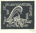 EX LIBRIS JAAP EGMOND (odkaz v elektronickém katalogu)
