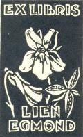 EXLIBRIS LIEN EGMOND (odkaz v elektronickém katalogu)
