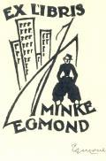 EX LIBRIS MINKE EGMOND (odkaz v elektronickém katalogu)