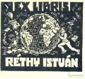 EX LIBRIS RÉTHY ISTVÁN (odkaz v elektronickém katalogu)