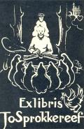 Exlibris Jo Sprokkereef (odkaz v elektronickém katalogu)