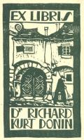 EX LIBRIS Dr. RICHARD KURT DONIN (odkaz v elektronickém katalogu)