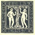HEINRICH EX-LIBRIS MARTHA ERNST (odkaz v elektronickém katalogu)