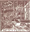 EXLIBRIS MEZEY FERENC (odkaz v elektronickém katalogu)
